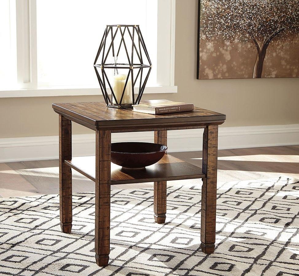 Zarina Jute Living Room Set Signature Design Furniture Cart