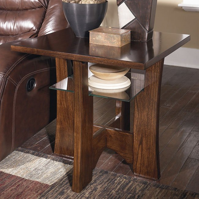Albie Square End Table