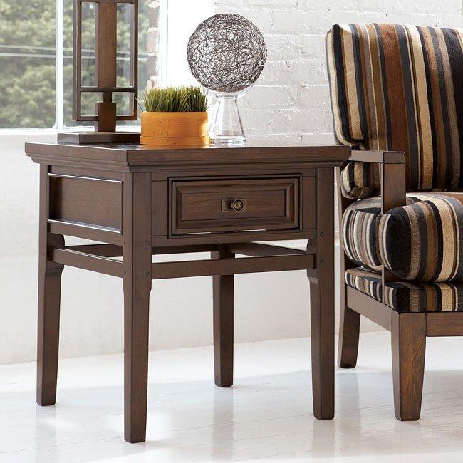 Crestwood Walnut Living Room Set Millennium 1 Reviews Furniture Cart