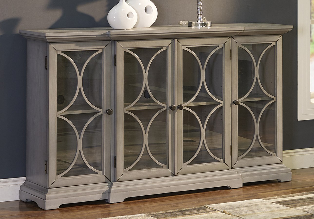 Paradiso Credenza W 4 Doors New Classic Furniture Furniture Cart