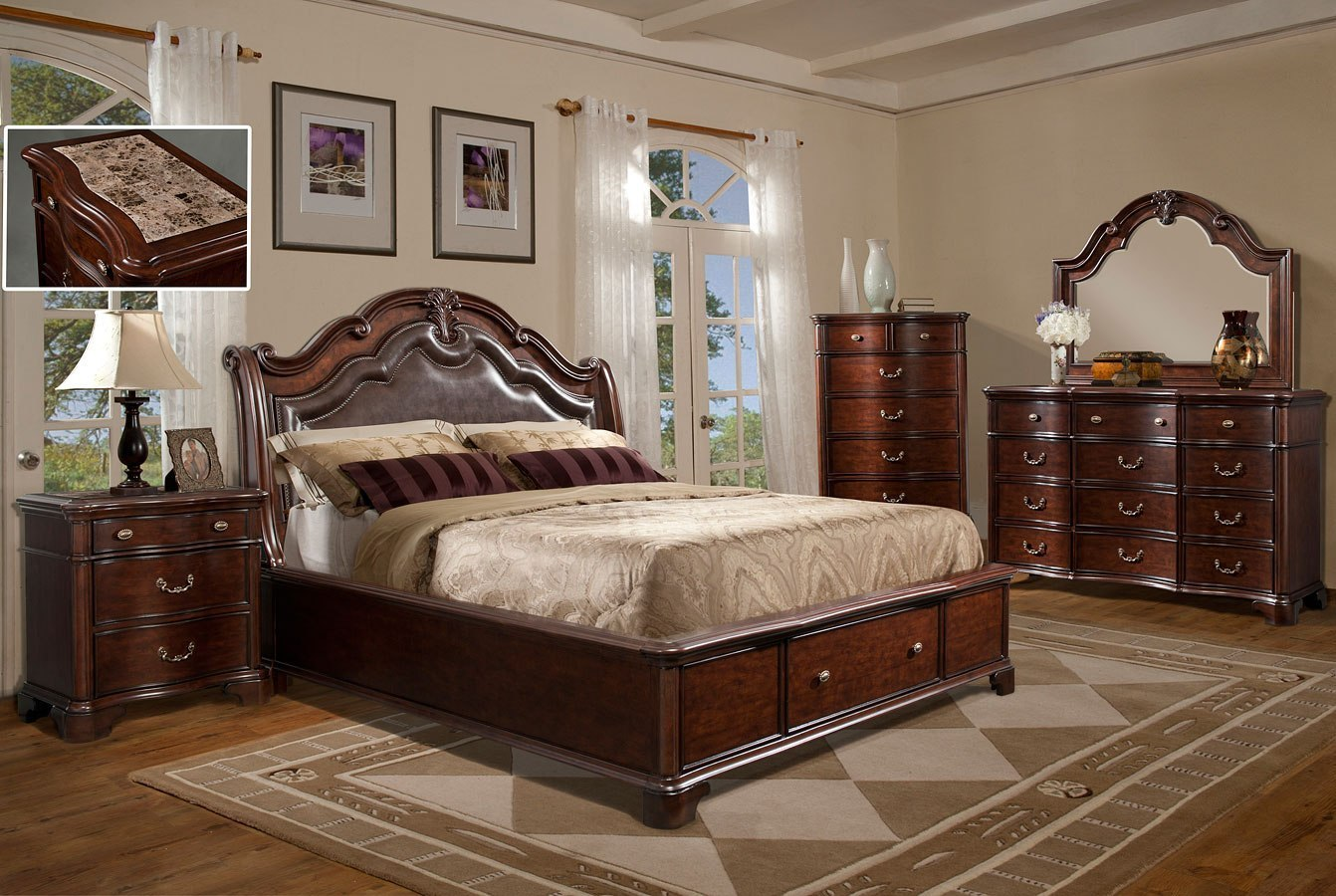 Tabasco Storage Bedroom Set Elements Furniture