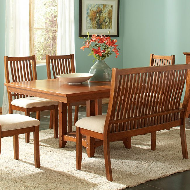 Tulsa Dining Table By Steve Silver Furniture