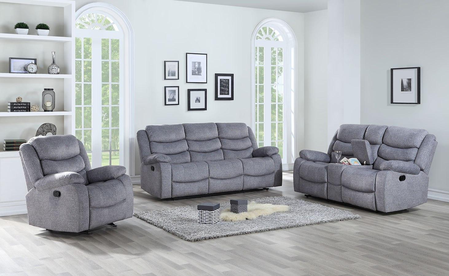 Granada Power Reclining Living Room Set New Classic