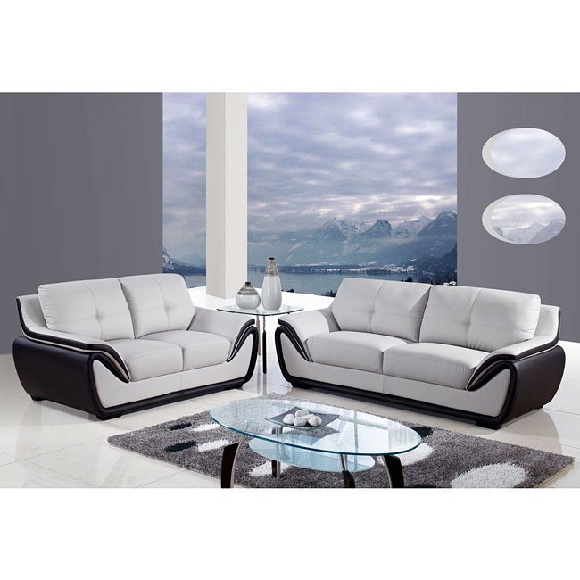 Black Living Room Furniture: Grey And Black Living Room Set Global Furniture