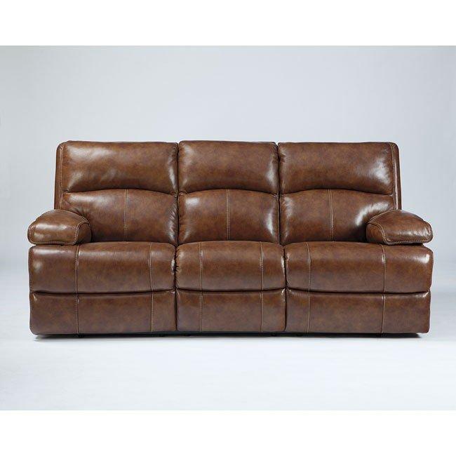 Lensar Nutmeg Reclining Sofa