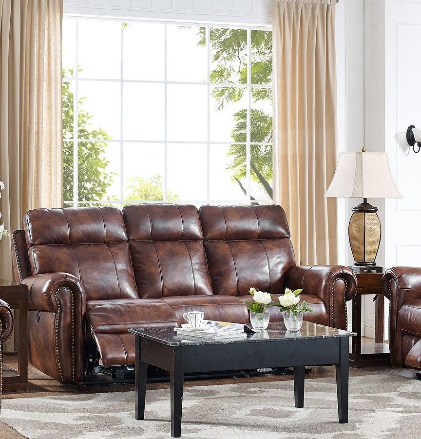 Roycroft Dual Power Reclining Sofa New Classic Furniture Furniture