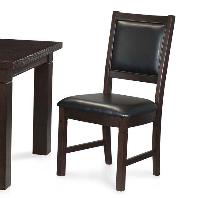 Urban Loft PU Side Chair (Set of 2)