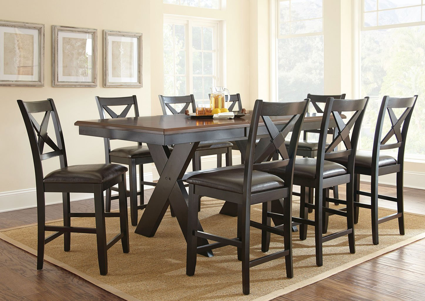 Violante Counter Height Dining Room Set Steve Silver