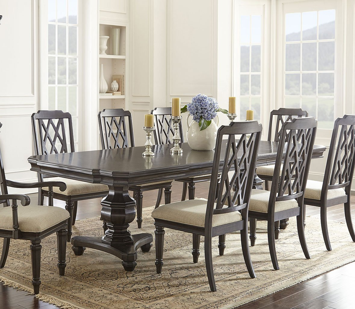 Vivaldi Double Pedestal Dining Table