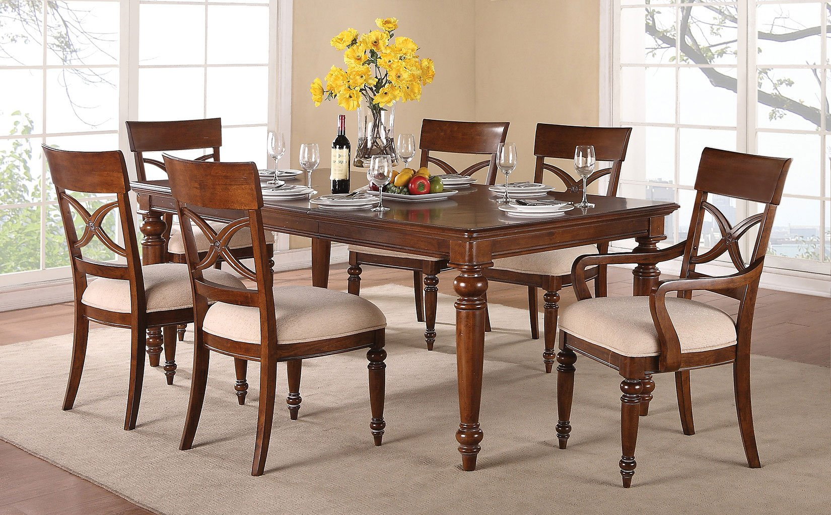 Ordinaire American Heritage Dining Room Set