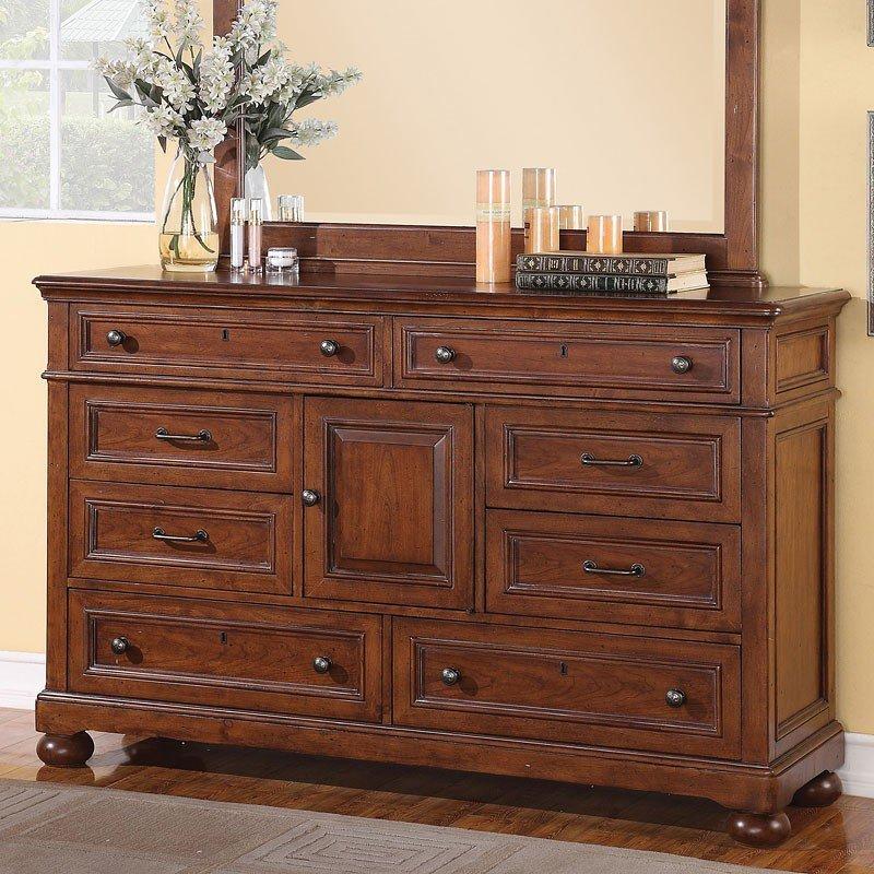American Heritage Dresser Flexsteel Furniture Cart