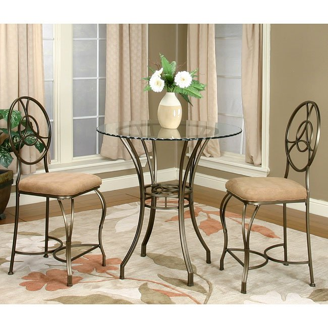 Delta Round Pub Table Set