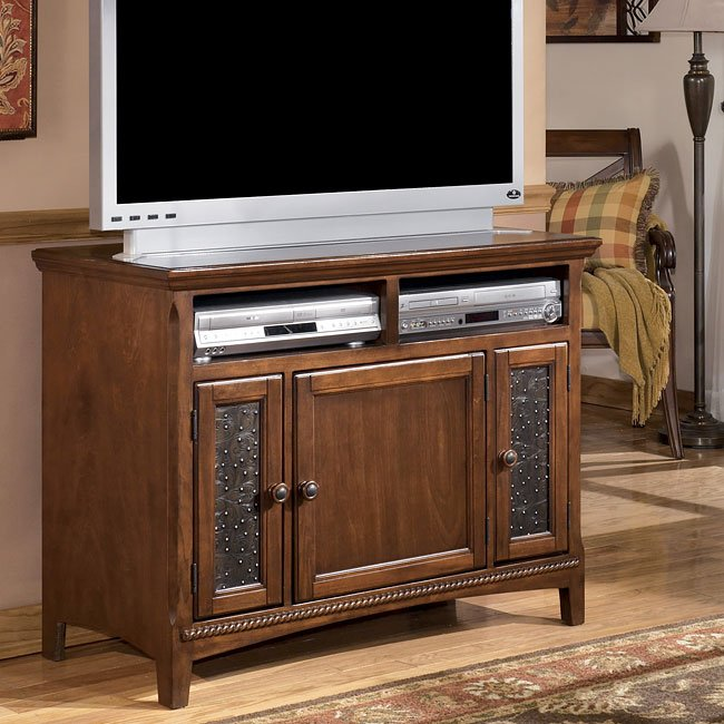 Larabee 42 Inch Tv Stand Signature Design Furniture Cart