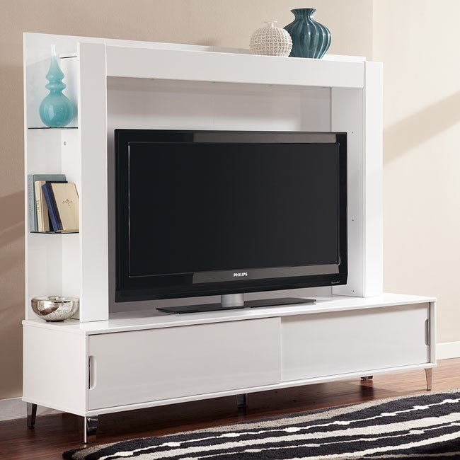 Culverden Extra Large Tv Stand W Back Panel