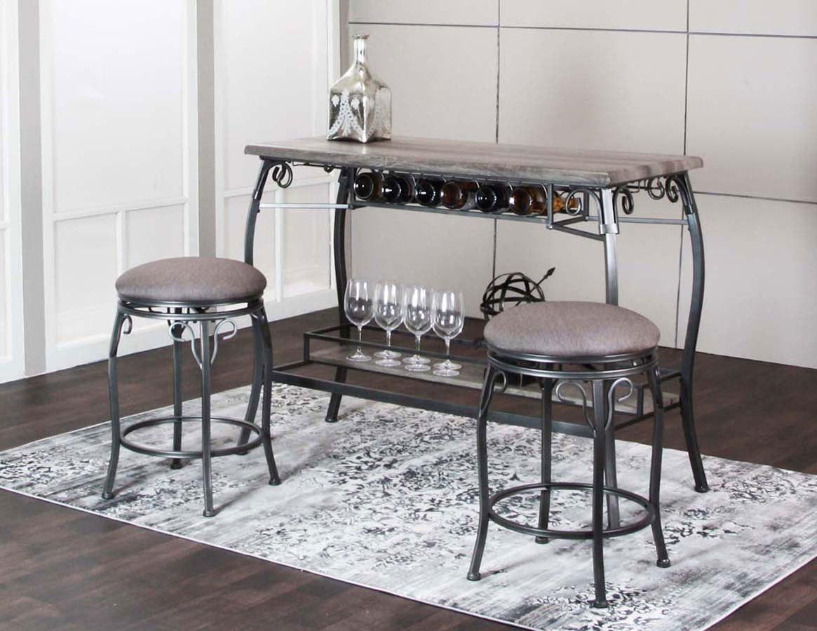 Sprite 3-Piece Pub Table Set