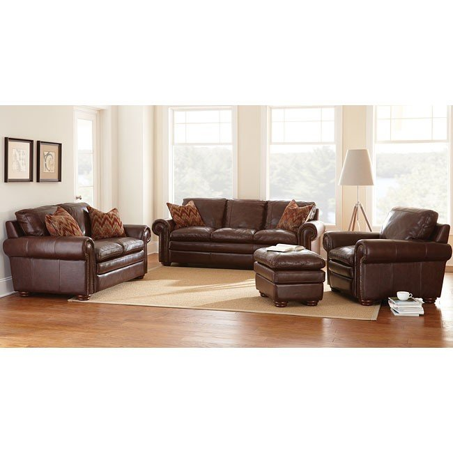 Yosemite Leather Living Room Set