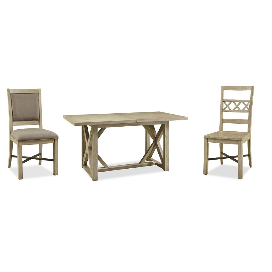 Hideaway Dining Room Set W Upholstered Chairs