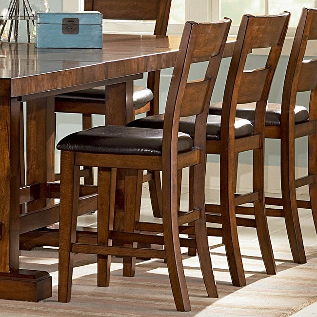 Zappa Counter Height Chair Set Of 2 Steve Silver