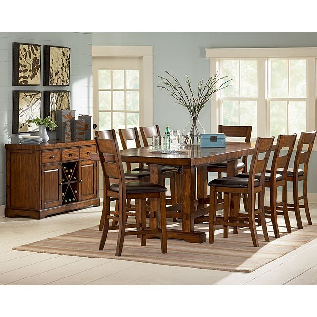Zappa Counter Height Dining Room Set Steve Silver Furniture, 2 ...