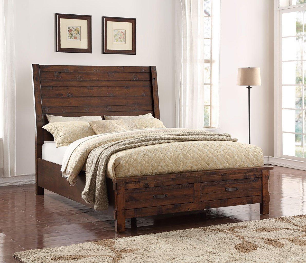 Restoration Panel Storage Bedroom Set Legends Furniture   Furniture Cart