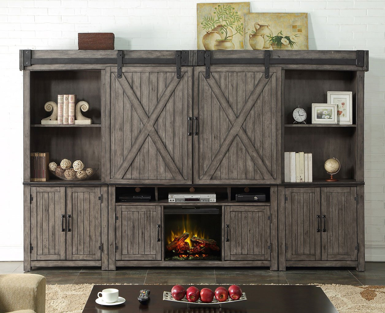 Storehouse Fireplace Entertainment Wall