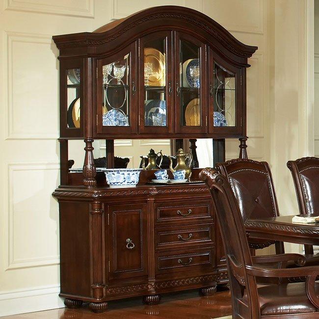 Antoinette Round Dining Room Set Steve Silver Furniture
