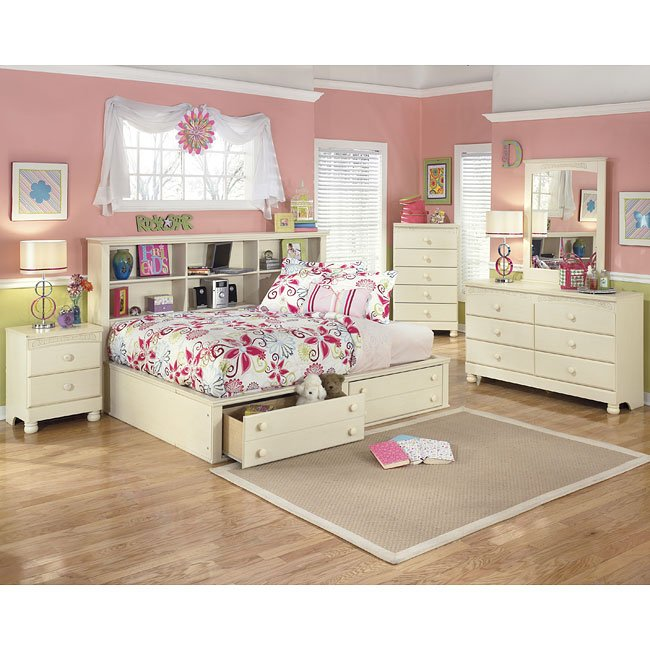 Patio Furniture For Sale In Fayetteville Nc: Cottage Retreat Bookcase Bedroom Set Signature Design