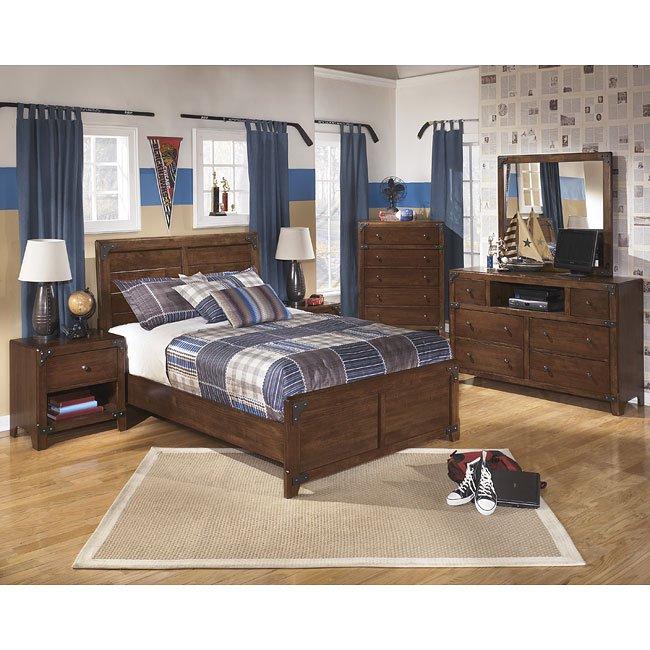 Delburne Panel Bedroom Set Signature Design
