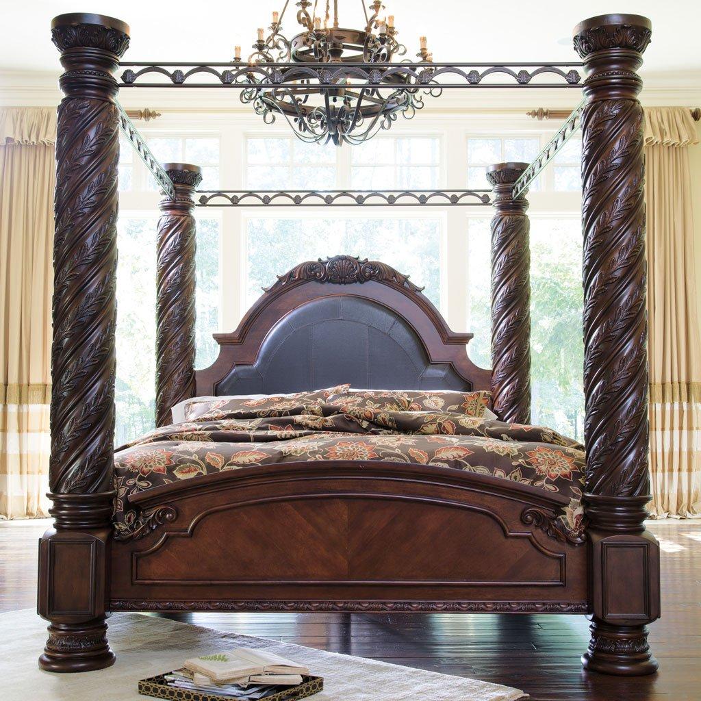 North Shore Canopy Bedroom Set Millennium 6 Reviews Furniture Cart