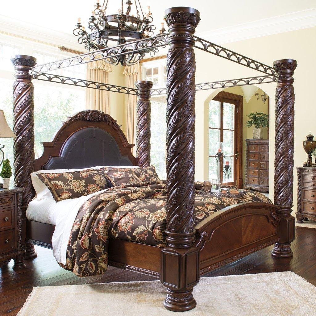 - North Shore Canopy Bedroom Set Millennium, 6 Reviews Furniture Cart