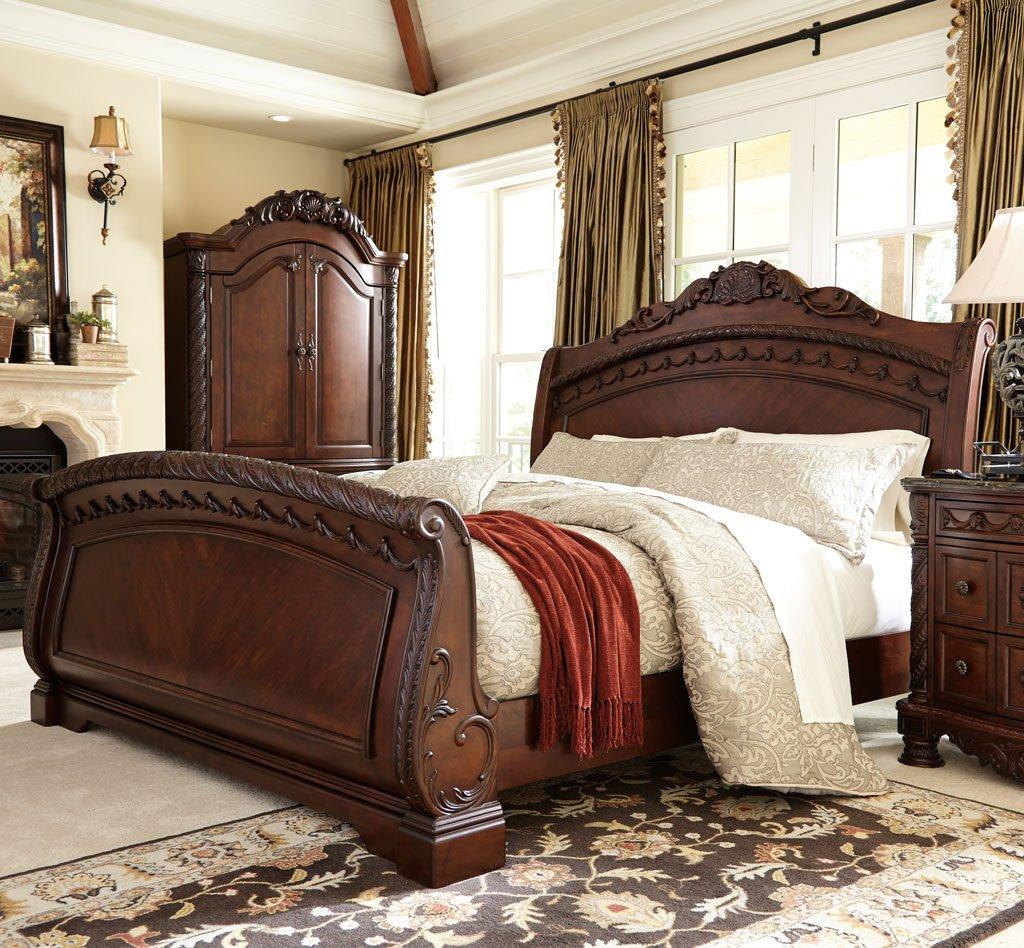 North Shore Sleigh Bedroom Set Millennium, 4 Reviews