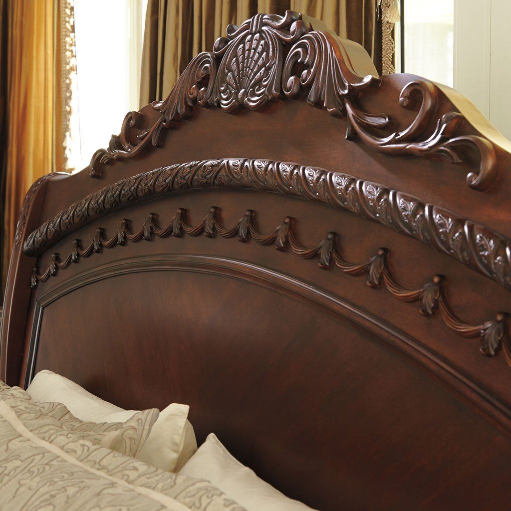 Ashley Furniture Millennium: North Shore Sleigh Bed Millennium, 5 Reviews
