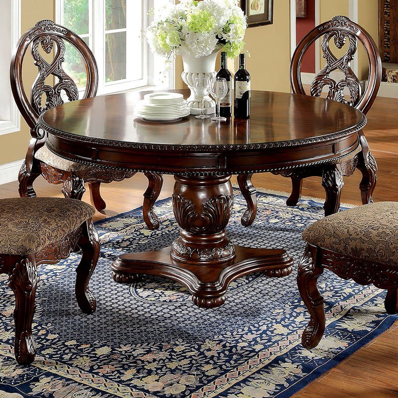Tuscany Traditional Antique Cherry Dining Table Set Shop For Affordable Home Furniture Decor Outdoors And More