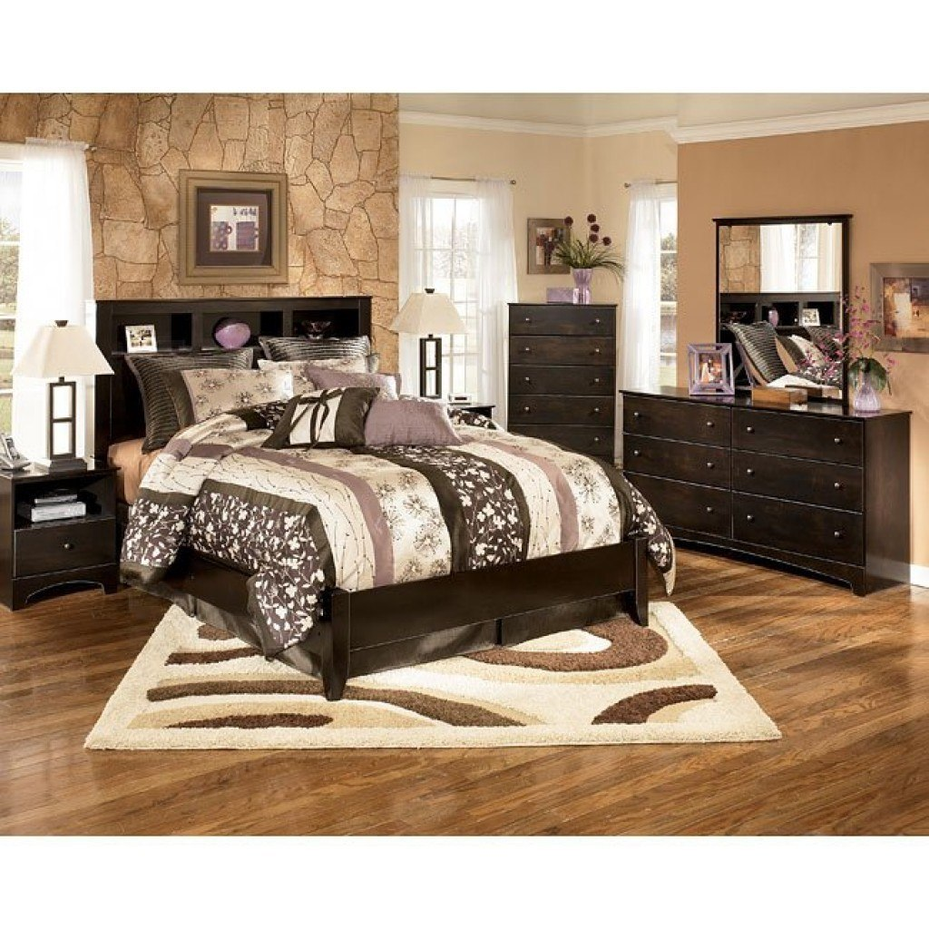 Kendi Bookcase Bedroom Set Signature Design | Furniture Cart
