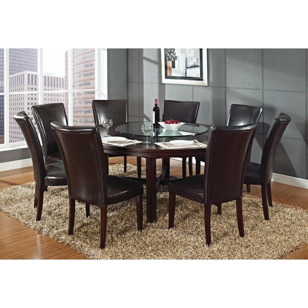 Hartford 72 Inch Round Dining Room Set Steve Silver Furniture ...