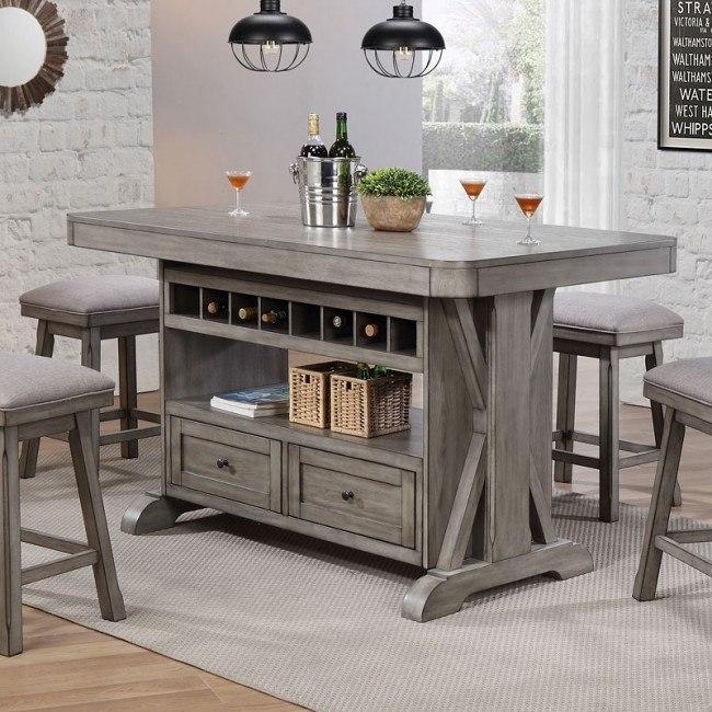 Graystone Kitchen Island Eci Furniture 4 Reviews Furniture Cart