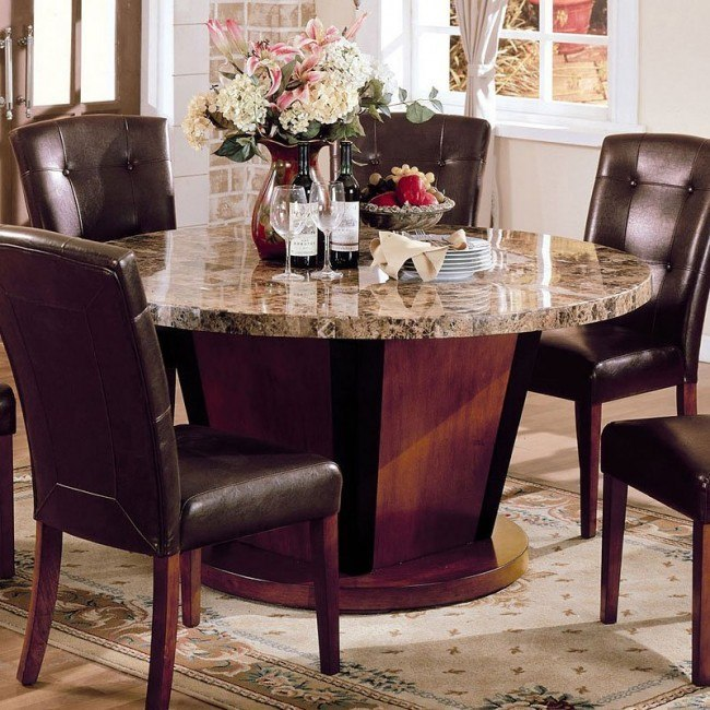 Bologna 60 Inch Round Dining Table
