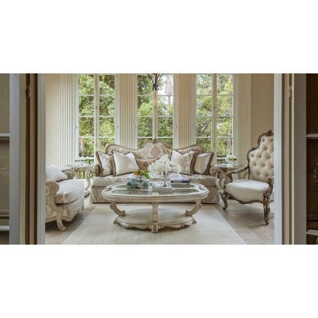 Platine de Royale Living Room Set (Champagne)