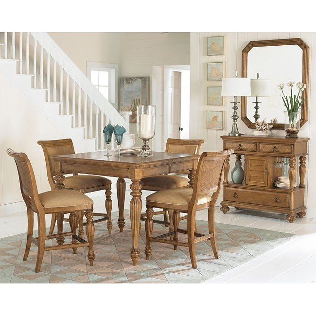 Grand Isle Counter Height Dining Room Set American Drew