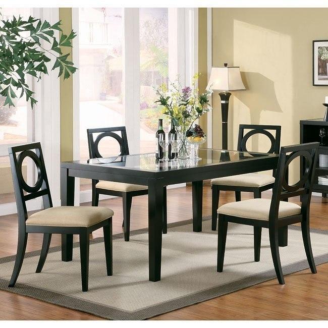 Lukas Dining Room Set Coaster Furniture Furniture Cart