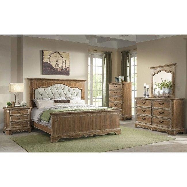Cottage Charm Panel Bedroom Set