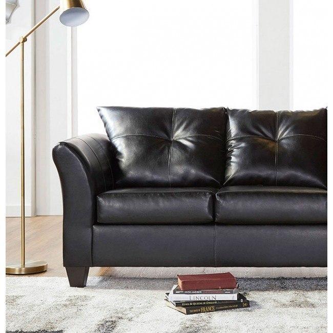 Tremendous 1050 Series San Marino Ebony Loveseat Machost Co Dining Chair Design Ideas Machostcouk