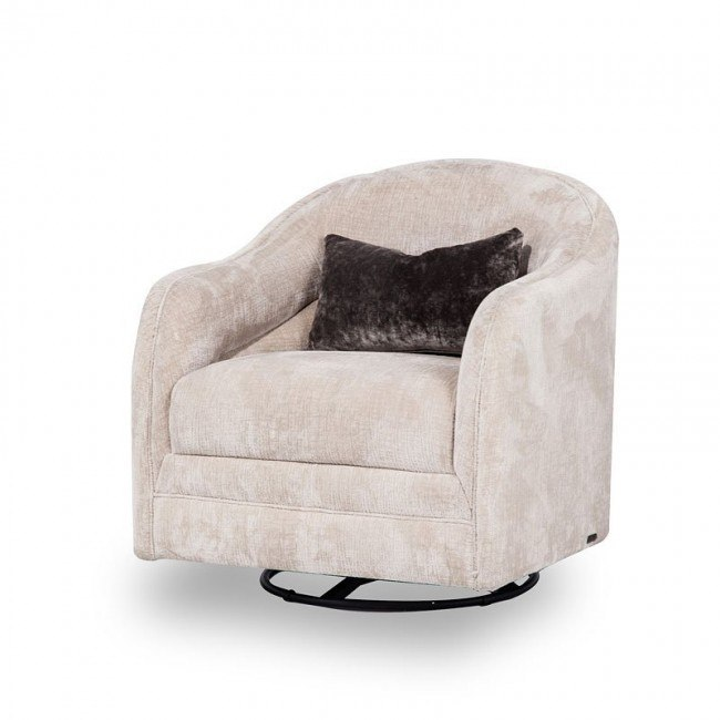 Admirable Cloche Small Swivel Chair Onthecornerstone Fun Painted Chair Ideas Images Onthecornerstoneorg