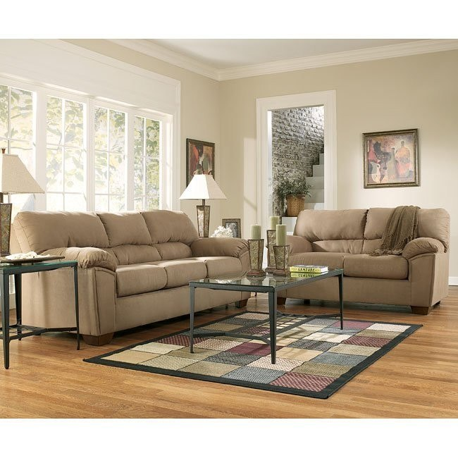 Graham - Mocha Living Room Set Signature Design ...