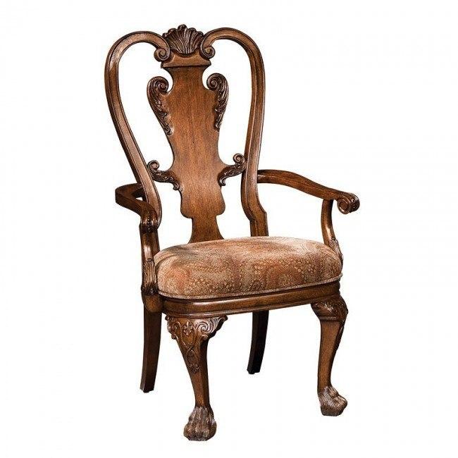 New Orleans Queen Anne Arm Chair Set