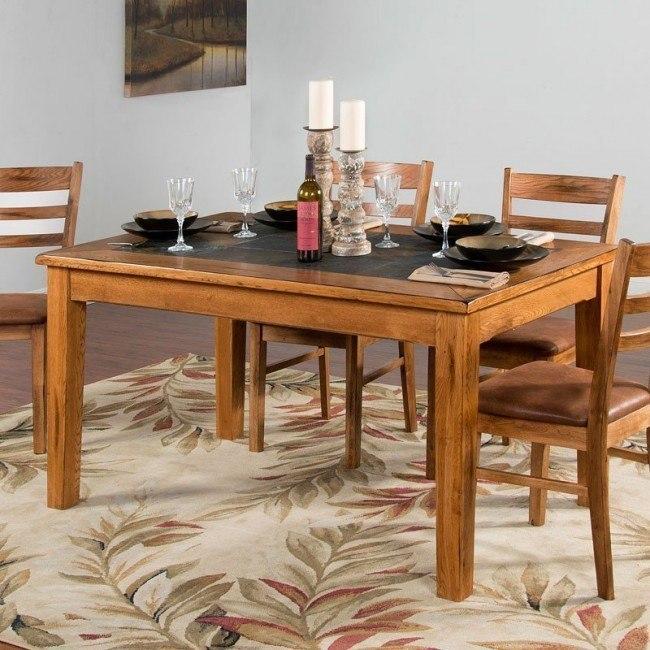 Sedona Slate Top Dining Table