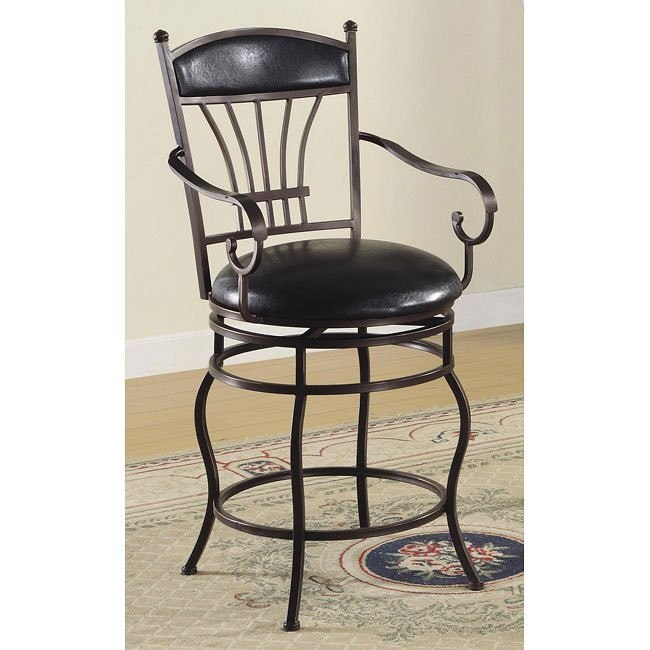 Surprising Faux Leather Upholstered 24 Inch Barstool Evergreenethics Interior Chair Design Evergreenethicsorg