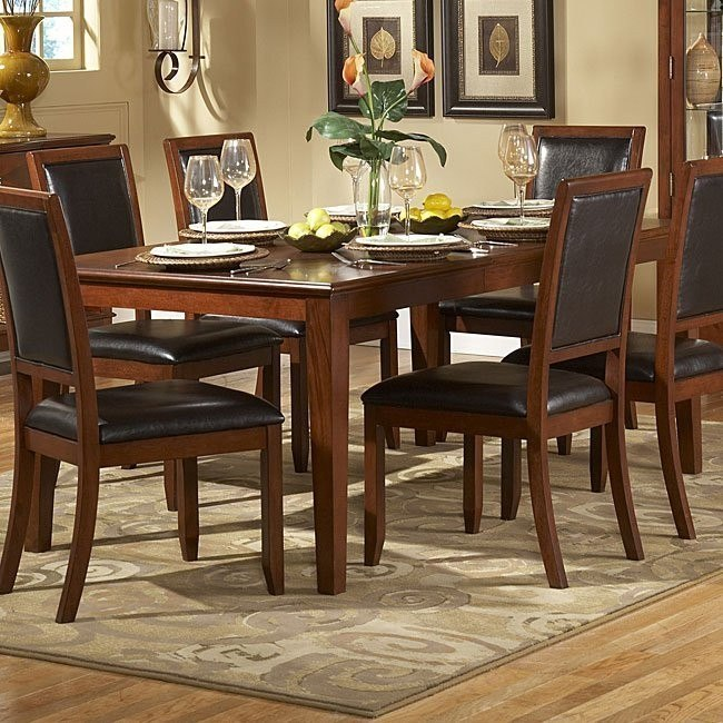 Avalon Dining Table Homelegance Furniture Cart