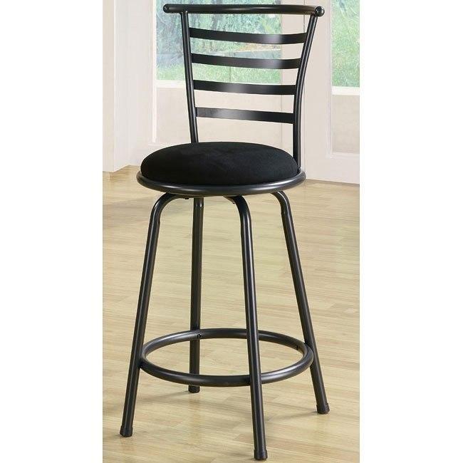 Pleasant Gunmetal Gray 24 Inch Barstool Set Of 2 Forskolin Free Trial Chair Design Images Forskolin Free Trialorg