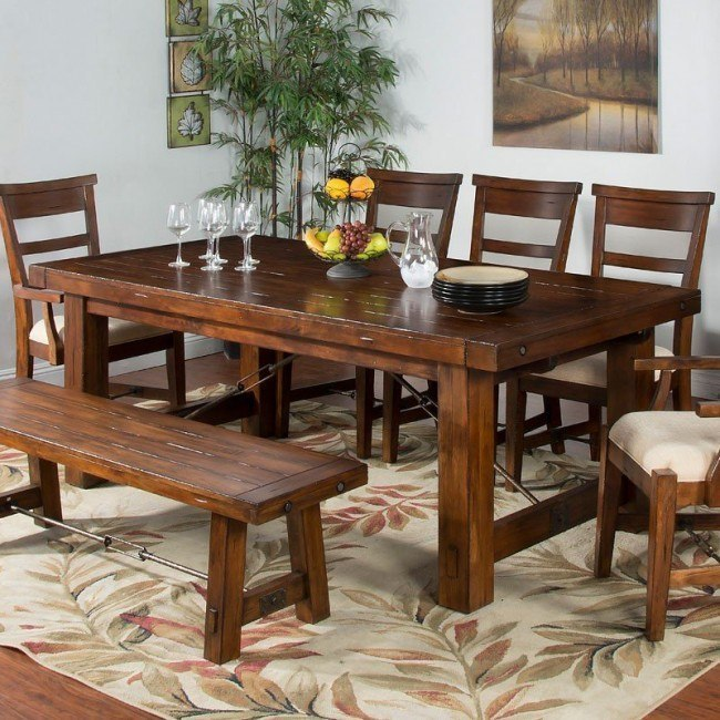 Tuscany Extension Dining Table Sunny Designs Furniture Cart